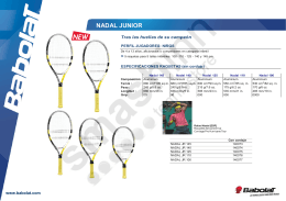 NADAL JUNIOR - SmashInn.com
