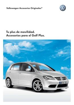 Accesorios VW Golf Plus - VAG