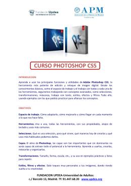 Photoshop CSS - Asociación de la Prensa de Madrid