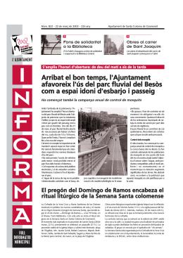 822 22marc2002 - Ajuntament de Santa Coloma de Gramenet