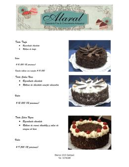 Torta Trufa Torta Sahne Nuss • Bizcochuelo chocolate