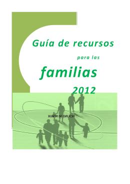 Guía de recursos 2012 - Benestar