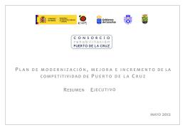 Resumen Ejecutivo PMM - Consorcio Urbanístico para la