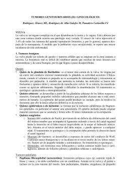 TUMORES GENITOURINARIOS (II