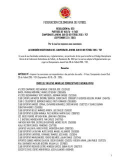 Resolución No. 020 (Septiembre 23 / 2015)