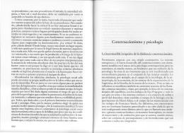 Construccionismo y psicología