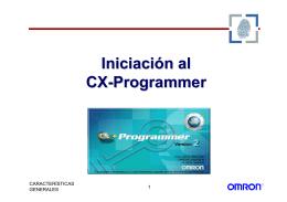 Iniciación al CX-Programmer