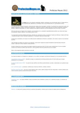 PDF Profecias Mayas