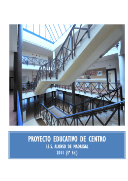 Proyecto Educativo - IES Alonso de Madrigal