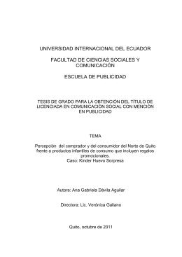 universidad internacional del ecuador facultad de ciencias sociales