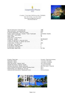 informacion general general information distancias desde el hotel
