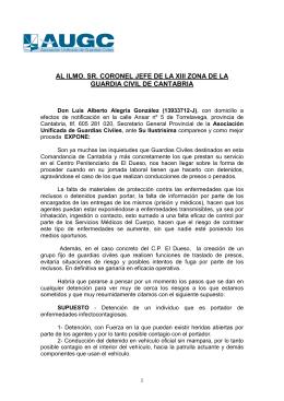 ESCRITO AUGC SEGURIDAD LABORAL CP DUESO