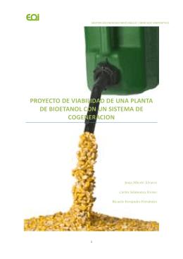 proyecto de viabilidad de una planta de bioetanol con un