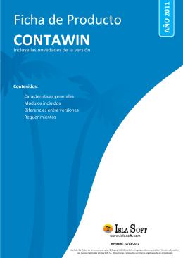 Ficha de Producto ContaWin