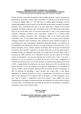 Rafael Valera - Rutilo Home Page