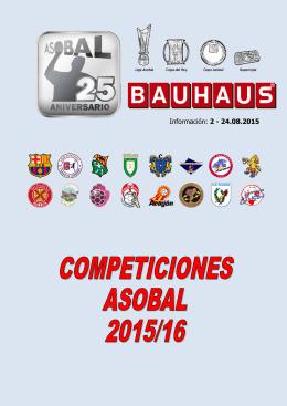Información: 2 - 24.08.2015 - Federación Aragonesa de Balonmano