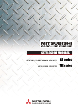 Descargar Mitsubishi Gasoline Engine 2014. Formato PDF