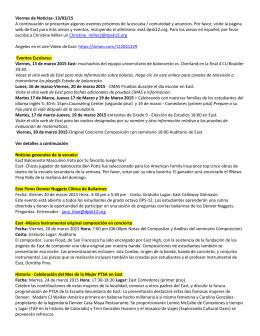 Viernes de Noticias- 13/03/15 A continuación se