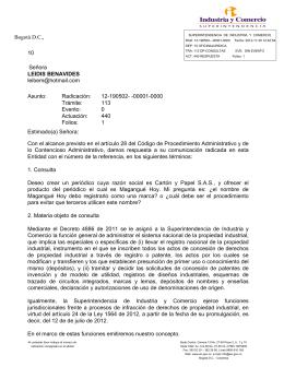 Objeto del registro de una marca - Superintendencia de Industria y