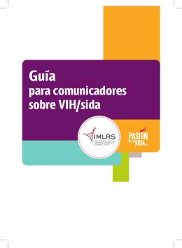 Guía para comunicadores sobre VIH/sida