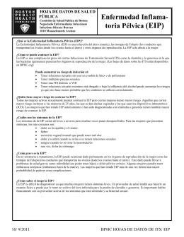 Enfermedad Inflama- toria Pélvica (EIP)