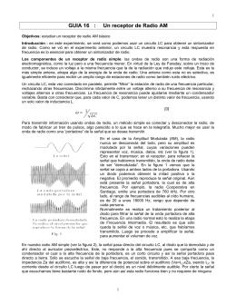 """Experimento 9: Un receptor de Radio """"Galena"""""""