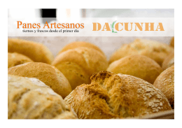 Panes Artesanos - Panadería Da Cunha