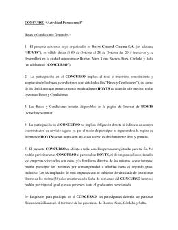 """CONCURSO """"Actividad Paranormal"""" Bases y Condiciones"""