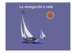 La navegación a vela
