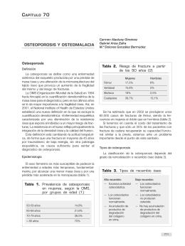 OSTEOPOROSIS Y OSTEOMALACIA