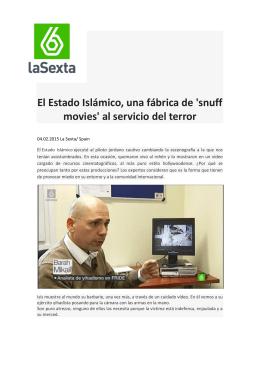 El Estado Islámico, una fábrica de `snuff movies` al servicio
