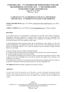 CONINFRA 2011 – 5º CONGRESO DE