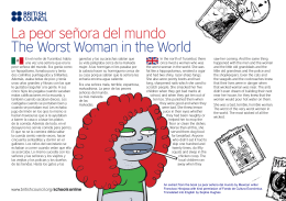 La peor señora del mundo The Worst Woman in the World