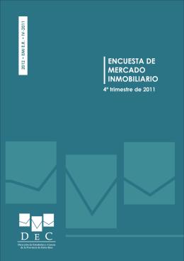ENCUESTA DE MERCADO INMOBILIARIO