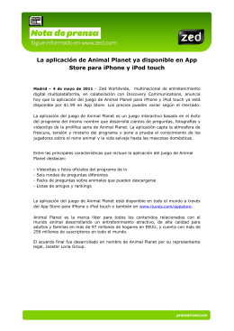 La aplicación de Animal Planet ya disponible en App Store