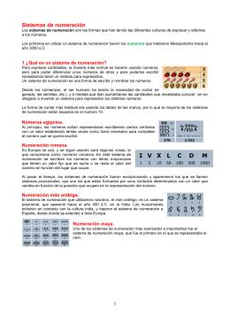 02 Sistemas de numeración