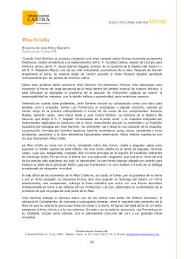 Misa Criolla - Historia de una obra maestra