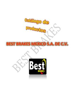 catálogo - Best Brakes