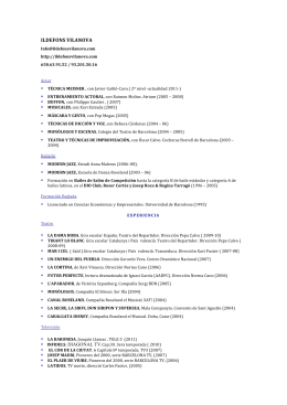 descarrègat el currículum en pdf