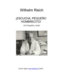Wilhelm Reich - la Fulminante