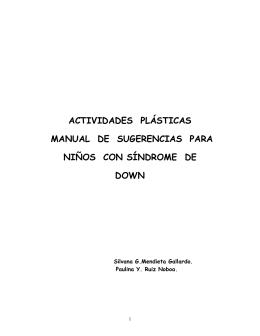 actividades plásticas - Repositorio Digital UTE
