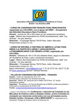 - CURSO DE CONVERSACIÓN FRANCÉS PARA PRINCIPIANTES