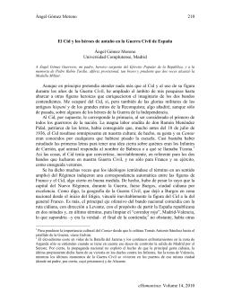 Ángel Gómez Moreno eHumanista: Volume 14, 2010 210 El Cid y