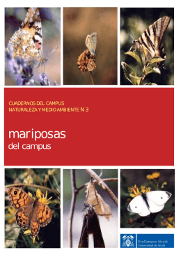 Mariposas del campus - Universidad de Alcalá