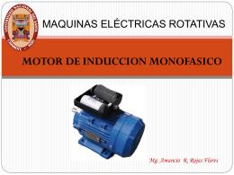 Motor monofásico universal para un taladro