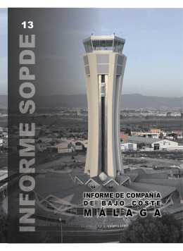 Informe Compañías de Bajo Coste en Málaga 2005