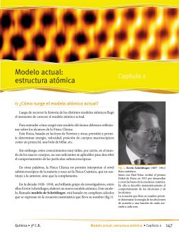 Todo se Transforma - Modelo actual: estructura atómica