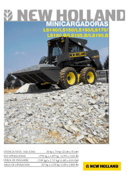 Manual de usuario New Holland LS 170