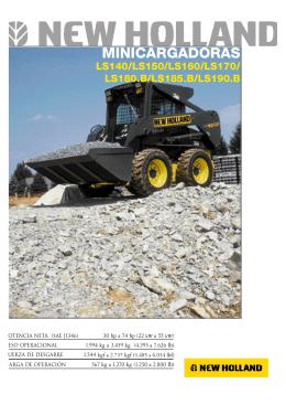 Manual de usuario New Holland LS 170