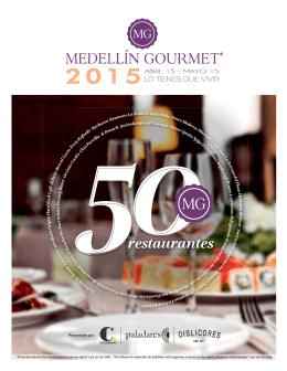 restaurantes - Medellín Gourmet